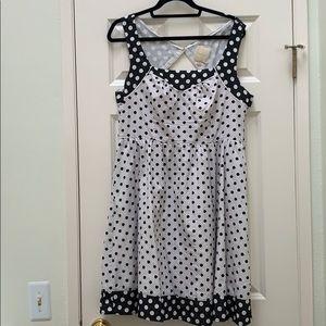 Polka dot dress with pockets❗️
